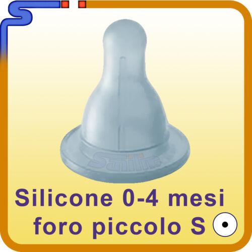 MODELLO CLASSICO TETTARELLA CHICCO ANTISINGHIOZZO IN SILICONE PRIMI MESI 0-4 M