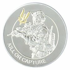 Special Air Service Gold Silver Plated Commemorative Coin Medal