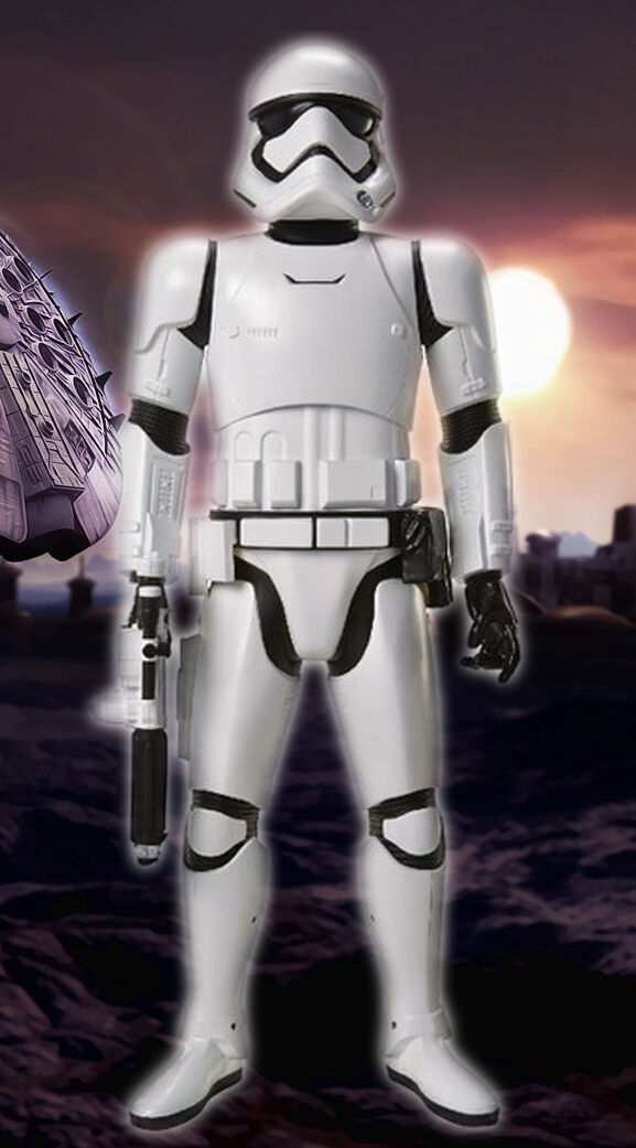 Star Wars First Order 48  Inch Stormtrooper Battle Buddy Jakks Pacific W Sounds