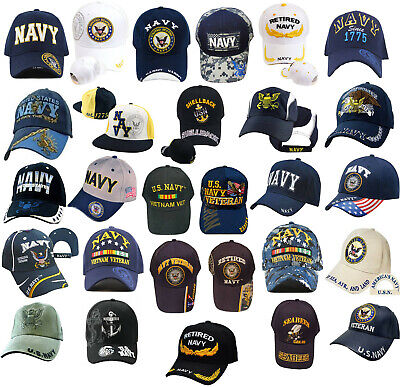 Eagle Crest United StatesNavy Veteran Hat Men Women Military Gifts Military Collectibles,Blue,One Size