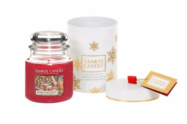 YANKEE CANDLE Home for the Holidays Medium Jar Gift Boxed