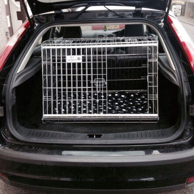 Mesh Travel Dog Guard Barrier Boot Liner For SKODA FABIA ALL MODELS