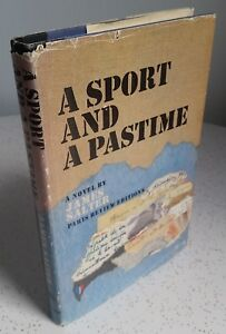 FIRST-EDITION-A-Sport-and-A-Pastime-by-James-Salter-1967-1st-Printing-Doubleday