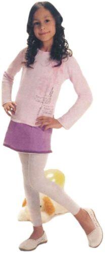 Kinder Leggings 7//8 lang  Leggins für Mädchen 40 DEN Größe 92-140 viel Farben