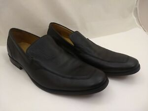 EUC-Cole-Haan-Black-Leather-Slip-On-Business-Casual-Loafers-Mens-9-5M-C12329