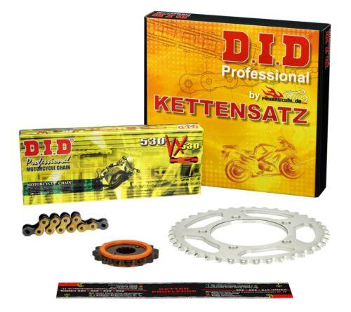 SILENT Kettensatz Suzuki GSX 750 98-03 DID VX X-Ring G/&B ENDLOS GSX750 AE WVAE