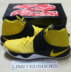 quality design abd8e a7064 Image is loading NIKE-KYRIE-2-II-AUSTRALIA-TOUR-YELLOW-BLACK-