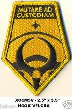 X-COM PATCH - MUTARE AD CUSTODIAM - Hook Backing - XCOM5V