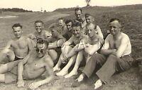 WWII German RP- Army Soldier- Semi Nude- Gay Interest- Break Time- Sunglasses