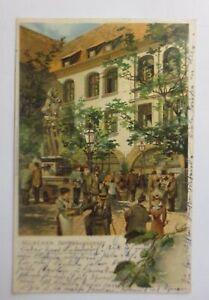 """Oktoberfest, Hofbräuhaushof München""  1901 ♥"