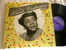 DINAH WASHINGTON Complete Vol 4 Cootie Williams Dave Young Mitch Miller LP