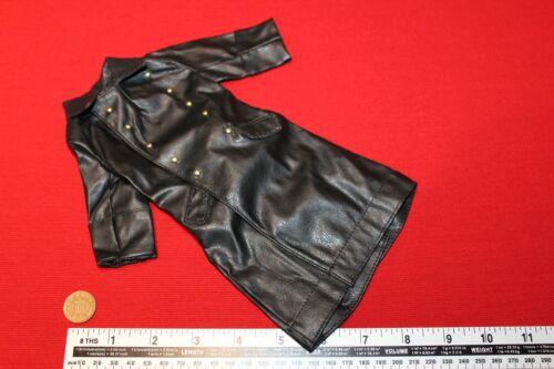 DRAGON MODELS 1:6TH SCALE WW2 GERMAN BLACK LEATHERETTE COAT  CB36148