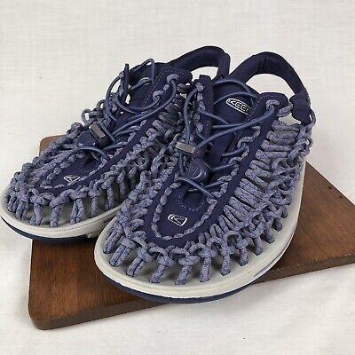 Keen Uneek Women S Purple Braided Corded Sandals Size 9 5