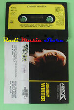 MC JOHNNY WINTER Rock storia e musica 1983 italy PROMO FABBRI no cd lp dvd vhs
