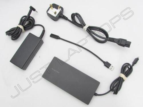 USB 3.0 Docking Station w// HDMI Display Inc 65W PSU HP EliteBook 840 G4 USB-C