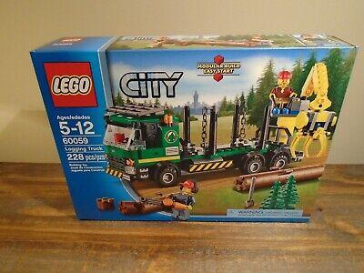 LEGO City 60059 Logging Truck Figures BRAND NEW SEALED