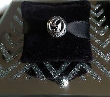 Pandora 1/2 PRICE SALE Silver Vintage Letter G Charm