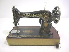 Vintage Singer Sewing Machine Model 66  1922  Electric Portable Tabletop