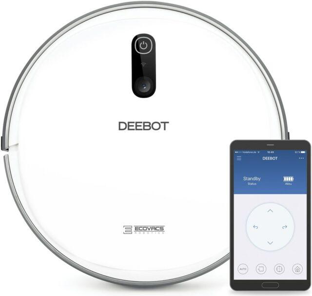 Ecovacs Deebot D710 Stilvoller Saugroboter mit optischer Lokalisierung