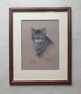 Marjorie-Cox-1915-2003-fantastic-original-pastel-drawing-signed-Sammy-Big-Boys