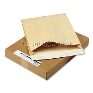 100 Pièces Sachets Postal Kraft Soufflet Jusqu'à 3,9cm épaisseur 25x35,3cm Diversifié Dans L'Emballage