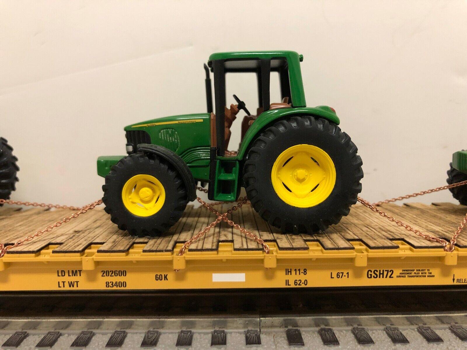 excelentes precios Atlas Trainman 68 68 68 pies mamparo Personalizado De John Deere 6420 4x4 granja tractores Athearn  Mejor precio