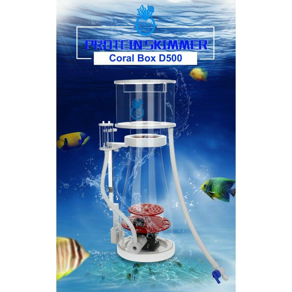Coral Box D500 Plus Dc Proteine Skimmer Sensore Livello Acqua Sistemi fino a 650