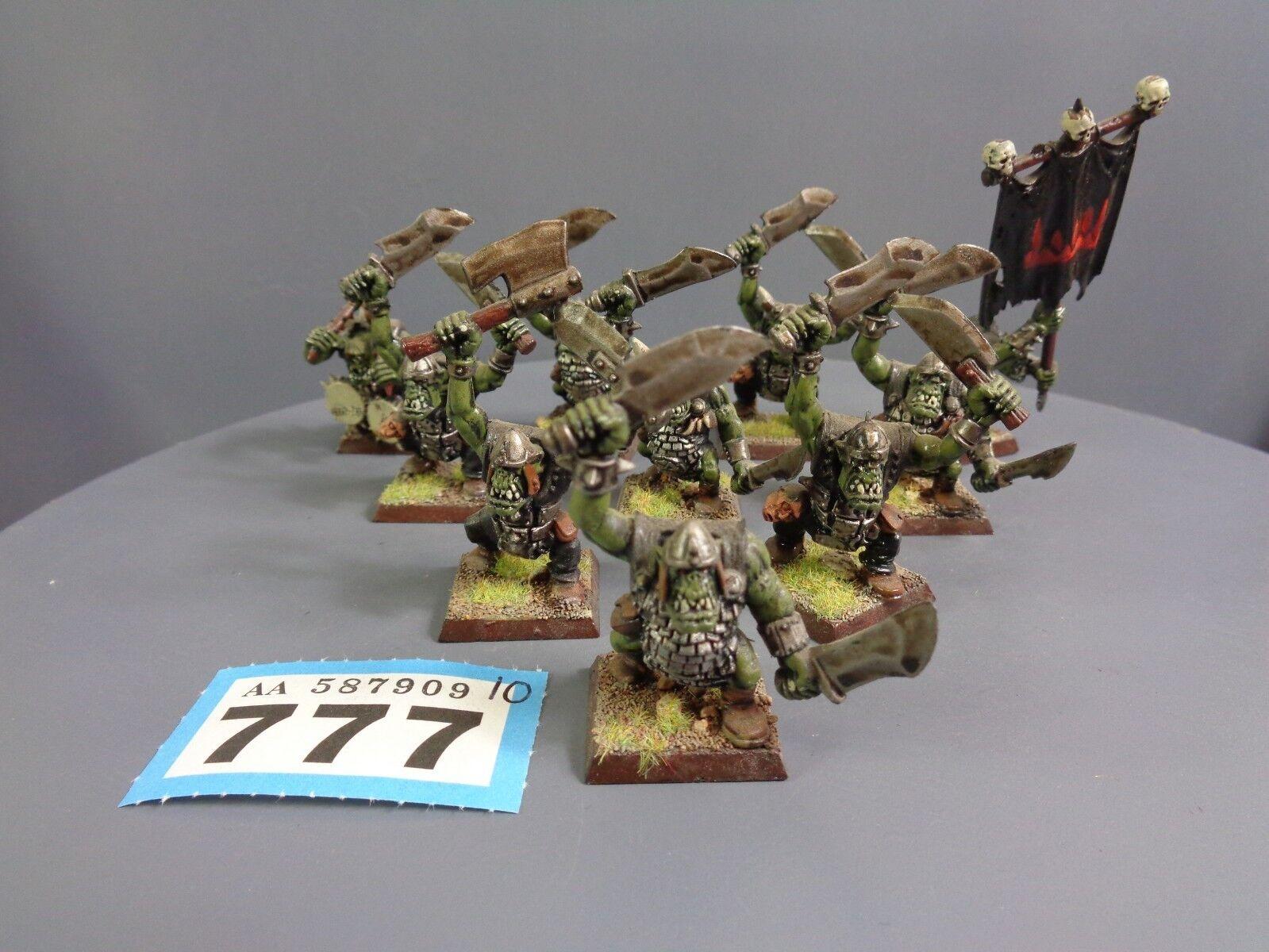 Warhammer Age of Sigmar Orruks Orcs Goblins Boys Mob 777