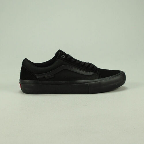 Vans Old Skool Pro Blackout Trainers Shoes New in box UK Size  6,7,8,9,10,11,12
