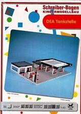 Schreiber-Bogen Kartonmodellbau DEA Tankstelle