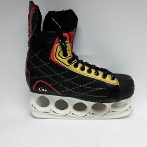 t-blade-Schlittschuhe-M-amp-L-Sports-t-24-Eishockey-Gr-45-Funblade-schwarz
