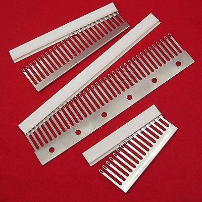 5mm 16 24 36 decker comb- transfer combs sockscomb pfaff knitting machine