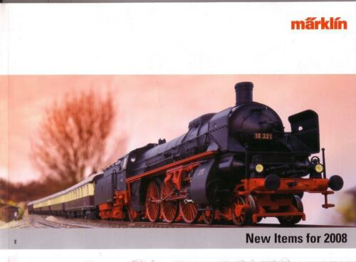 "Marklin 2008 ""New Items"" Catalogue"