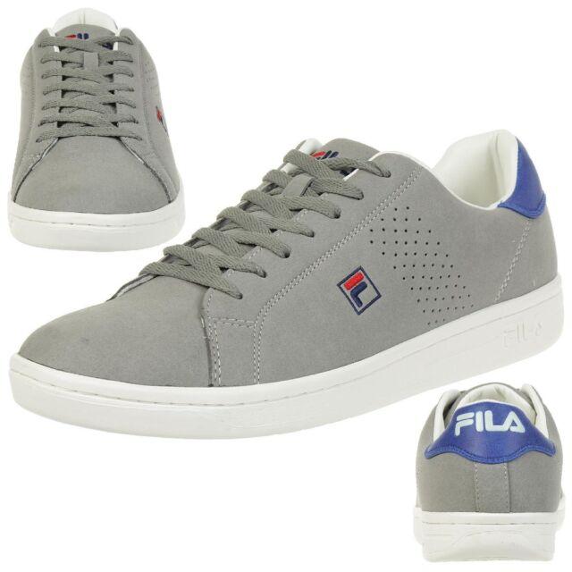 Fila Crosscourt 2 Low Sneakers Trainers GreyPurple Men's Shoes