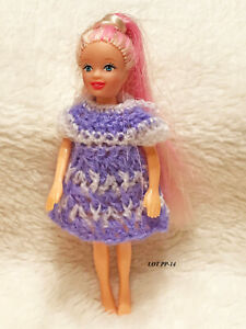 "Doll Clothes Dress for 3.5/"" Polly Pocket Handmade OOAK USA  Lot 4-E Select"