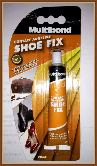 Multibond Shoe Fix Repair Contact Adhesive Glue bonding Rubber, Leather, Canvas