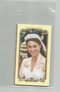 KATE-MIDDLETON-Royalty-2012-GOODWIN-CHAMPIONS-LADY-LUCK-BACK-MINI-216-RARE
