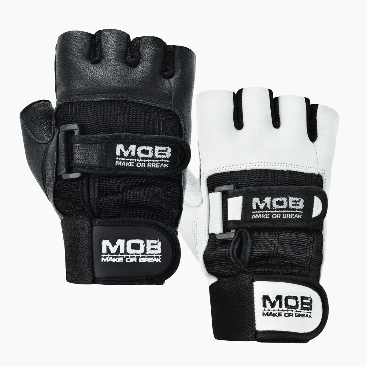 Weight Lifting Gloves Leather Fitness Gym Training Workout: Weight Lifting Gym Padded Leather Training Workout Fitness