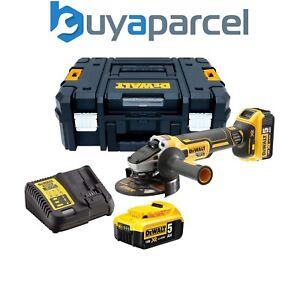 Dewalt DCG405P2 18v XR Brushless Cordless 125mm Angle Grinder -2 x 5.0ah Battery