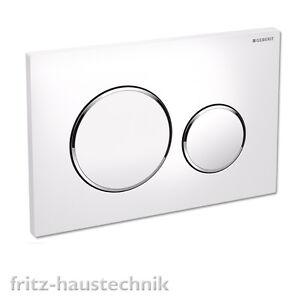 Hervorragend Geberit Sigma 20 Neu Drückerplatte WC Betätigungsplatte weiß ON34