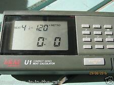 VINTAGE RARE BEAT CALCULATOR AKAI U1 DIGITAL METRONOME .MADE IN JAPAN