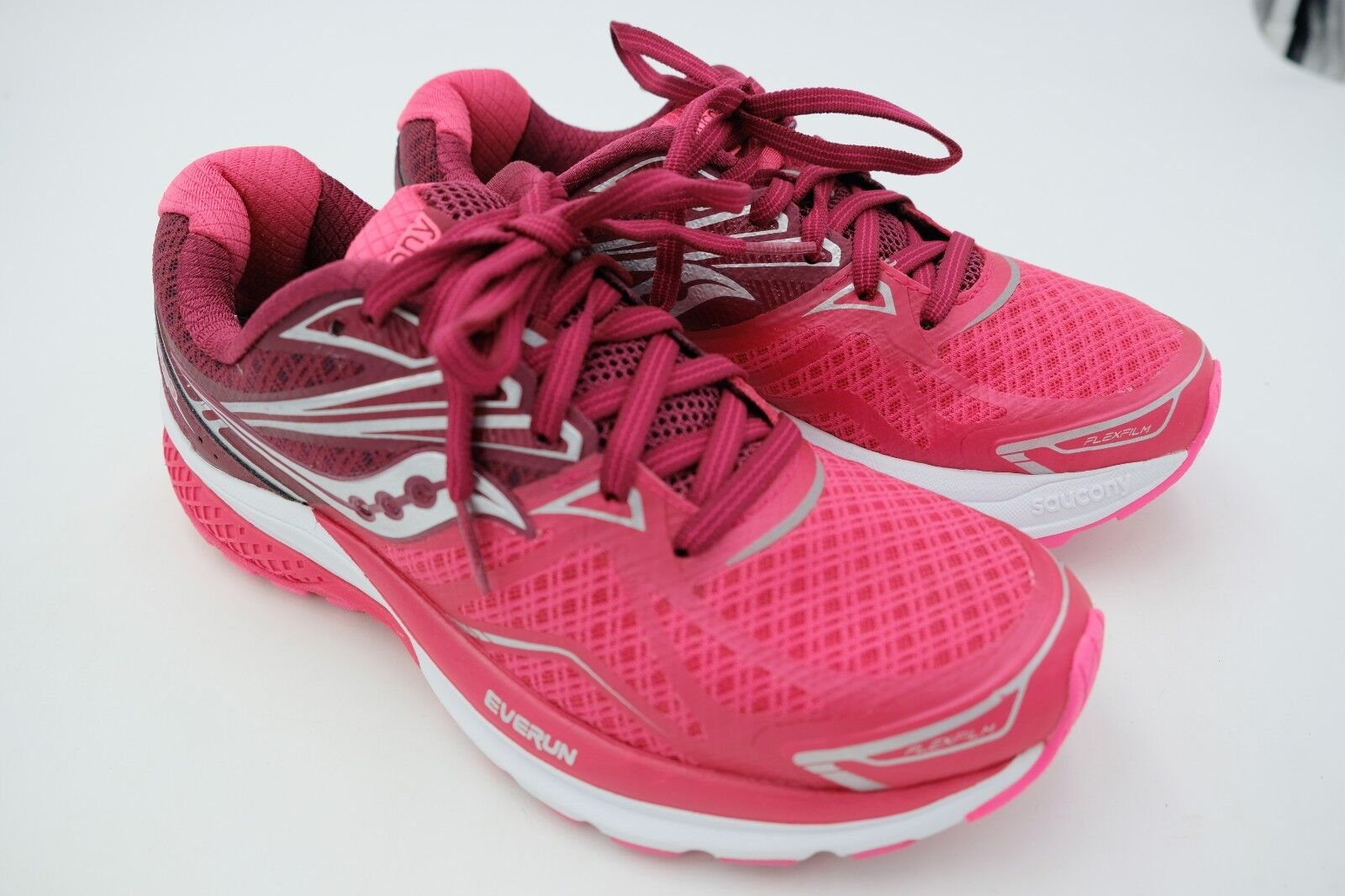 Saucony Ride 9 9 9 Running shoes - Womens Pink Berry Size 7 Used 56ddea