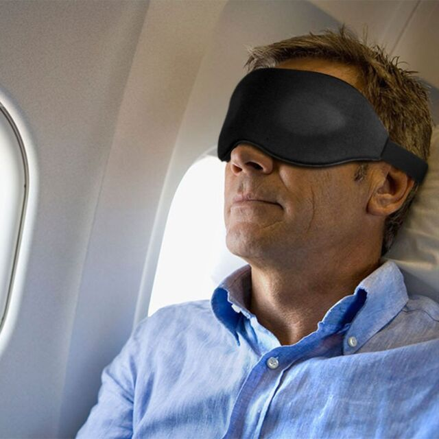 Blindfold Mask 'Chronos' Ultralight 3D Contoured Memory Foam Sleeping/Meditaion