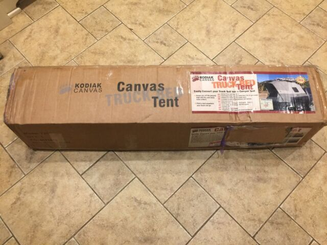 New Kodiak Canvas Truck Bed Tent 7206 Complete With Poles