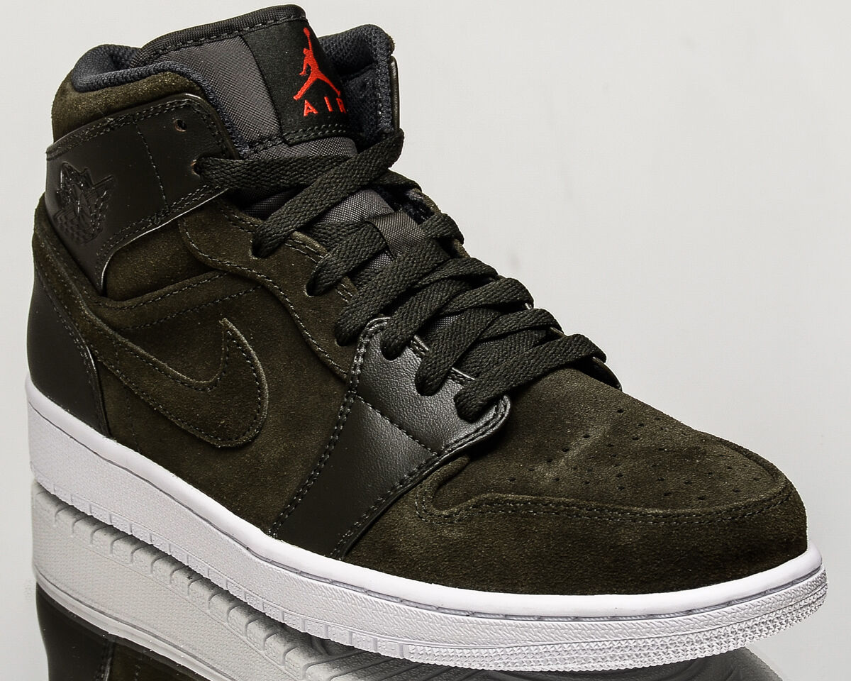 Air Jordan 1 Mid NEW men lifestyle casual Turnschuhe NEW Mid sequoia 554724-302 1f0f79