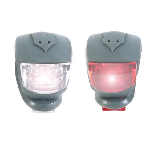 FUXTEC Bollerwagen Lichter-Set LED Licht Lampe Blinklicht Kinderwagen Fahrrad