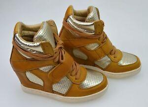 Ash-Donna-Casual-Sneaker-Scarpe-Con-Zeppa-Interna-in-Pelle-CODICE-COOL-BIS-84940
