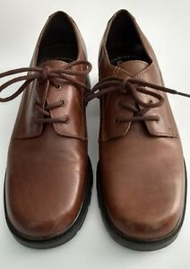 Bass-Shoes-Oxfords-Womens-Size-6-5-M-Brown-Leather