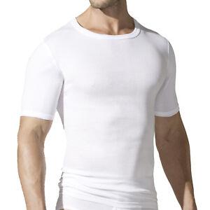 2-Paquete-Gotzburg-Hombre-Camisetas-interiores-Camisetas-Acanalado-Blanco-641133