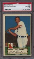 1952 Topps 23 Billy Goodman Psa 4 Vg-ex Boston Red Sox